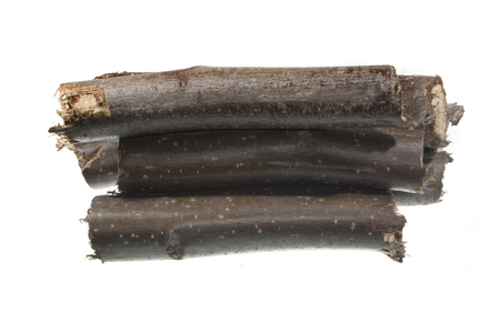 firewood isolated on white background Stock fotó