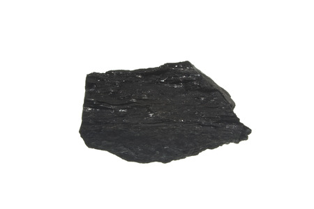 coal isolated on white background Stockfoto