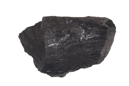coal isolated on white background 写真素材 - 112875415