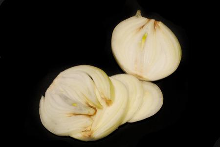 onion isolated on white background