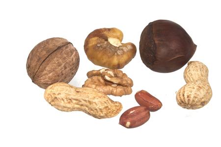 nut isolated on white background