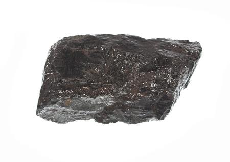 coal isolated on white background Reklamní fotografie