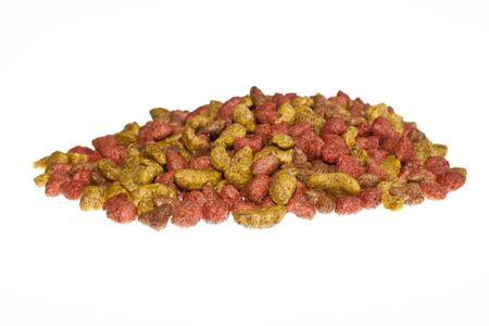 cat food isolated on white background Stock Photo