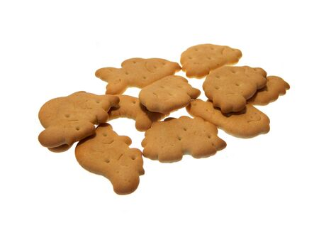 cookie isolated on white background 写真素材