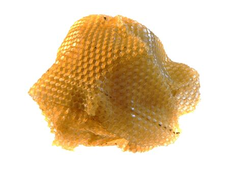 honeycomb isolated on white background 写真素材