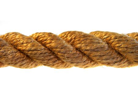 rope isolated on white background 写真素材