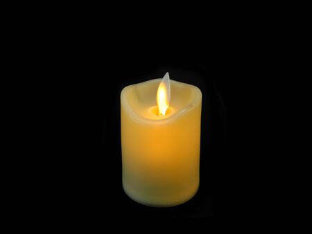 candle isolated on white background