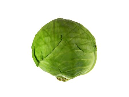 cabbage isolated on white background Stockfoto