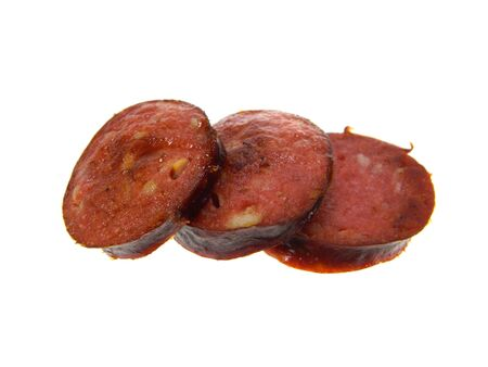 meat isolated on white background