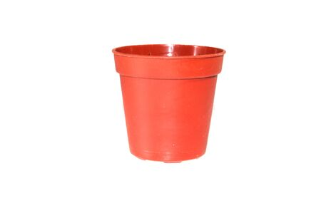 flower pot isolated on white background Banque d'images