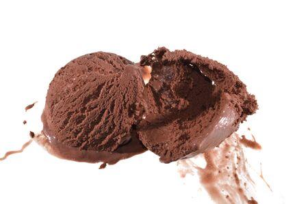 ice cream isolated on white background