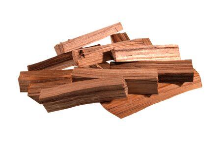 oak bar isolated on white background