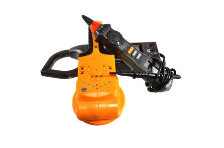 power tool isolated on white background 写真素材