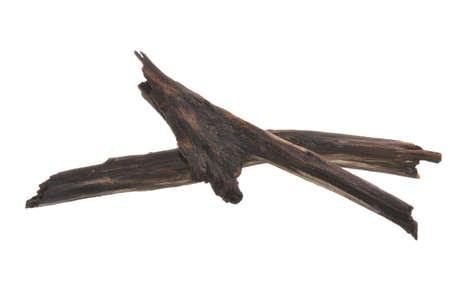firewood isolated on white background Imagens