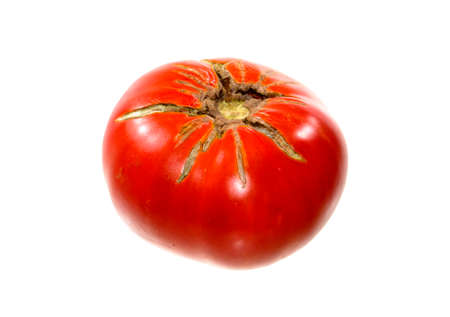 red tomato isolated on white background Archivio Fotografico - 153864071