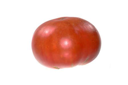 red tomato isolated on white background Archivio Fotografico - 155308335