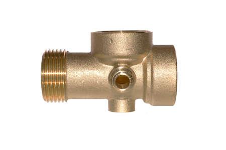 plumbing adapter isolated on white background Reklamní fotografie