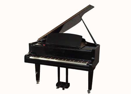 detail of a piano shot -close-up
