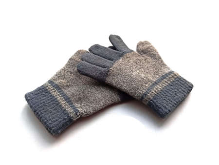 gloves isolated on white background