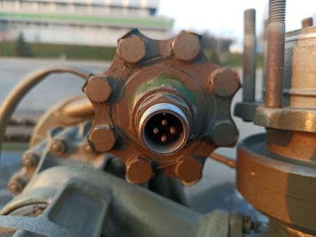 naval equipment shot-close-up 版權商用圖片