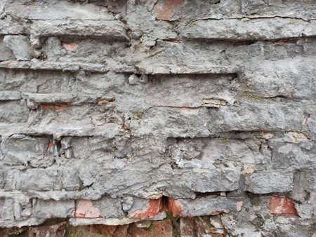 old walls removed - close-up 版權商用圖片
