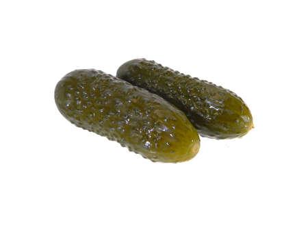 cucumber isolated on white background 版權商用圖片