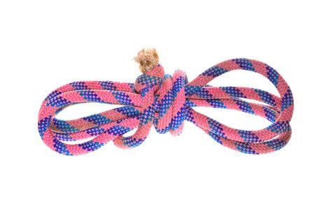 rope isolated on white background 免版税图像