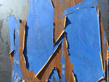 photo of shabby old paint-close-up