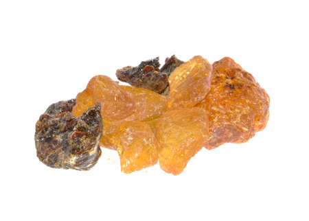 rosin isolated on white background 免版税图像
