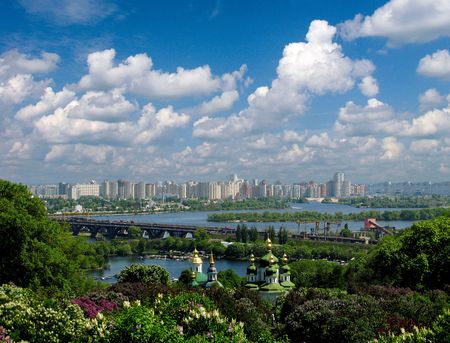 skyscapes: Kiev