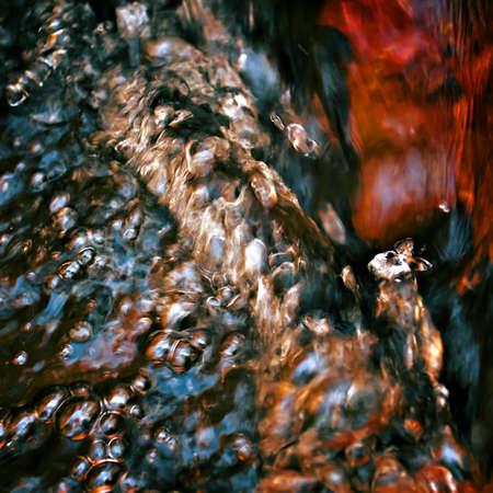 close range: Abstract image of fresh water surface at close range