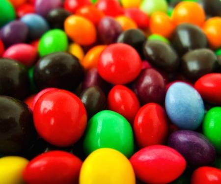 colorés bonbons sucrés