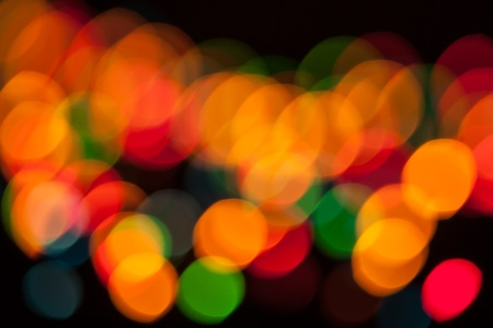 Bokeh. Abstract Christmas light background photo