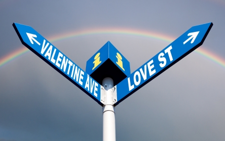 ave: Valentine ave and love street
