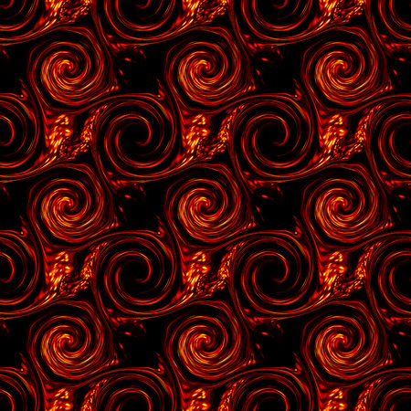 tessellate: Twirls abstract. Seamless colorful abstract background pattern