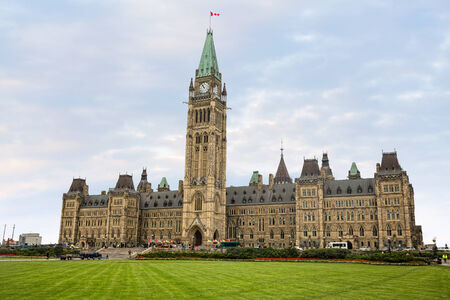 commons: OTTAWA, CANADA - Sep 17, 2014: Parliament of Canada on Parliament Hill during the speech of president of Ukraine Petro Poroshenko at the joint meeting of the House of Commons and Senate Editorial