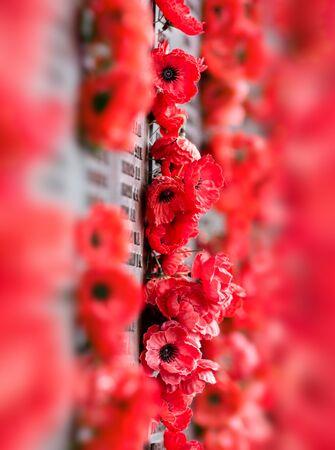 澳大利亚堪培拉——2014年12月12日:堪培拉的澳大利亚战争纪念碑。这是澳大利亚的国家纪念碑,纪念那些在战争中死去或参与战争的澳大利亚人。