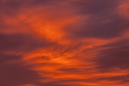 crimson colour: Red clouds background