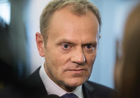 donald: RIGA, LATVIA - May 22, 2015: Eastern Partnership Sammit. President of the European Council Donald Tusk