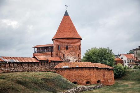 kaunas: Historical gothic Kaunas Castle from medieval times in Kaunas, Lithuania. Editorial