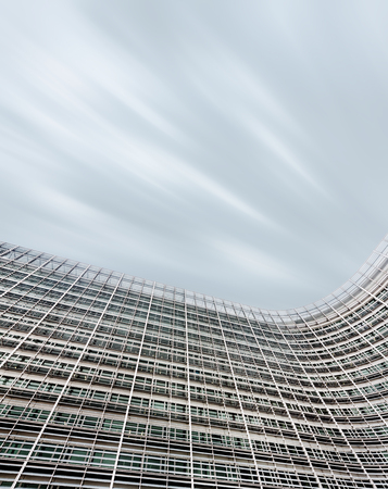 eec: BRUSSELS, BELGIUM - Jun 27, 2016: The Berlaymont is an office building that houses the headquarters of the European Commission Editorial