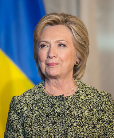 sep: NEW YORK, USA - Sep 20, 2016: Candidate for Presidency of the United States Hillary Clinton during the 71 th session of the UN General Assembly in New York Editorial