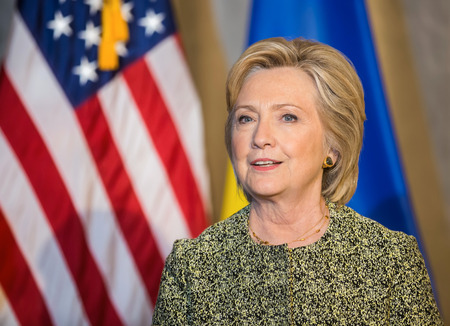 presidency: NEW YORK, USA - Sep 20, 2016: Candidate for Presidency of the United States Hillary Clinton during the 71 th session of the UN General Assembly in New York Editorial