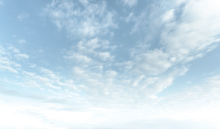 Natural sky background with clouds in light tonality. Abstract nature image for background use. Reklamní fotografie