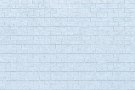 Brick wall texture background  in light blue tonality