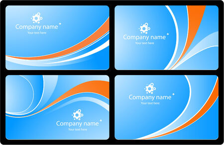 business cards set3 Vector