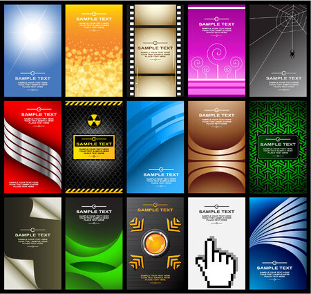 business cards (set 10) Vector