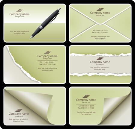 Business card set 9