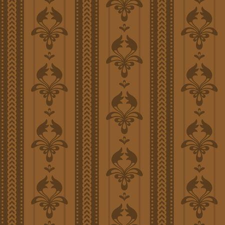 Vector seamless wallpaper Stock Vector - 5866012