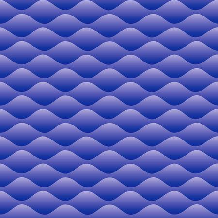 Vector seamless waves Vector